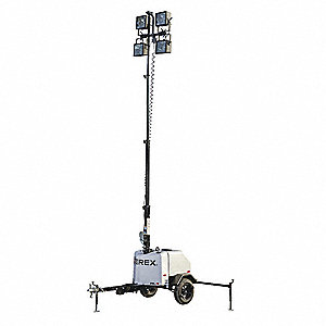 LIGHT TOWER W/ 8KW GENERATOR