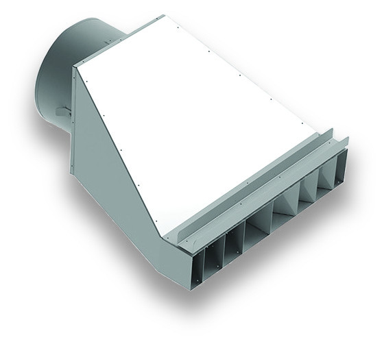 DUCT DIFFUSER FOR INDIRECT HEATER - 18
