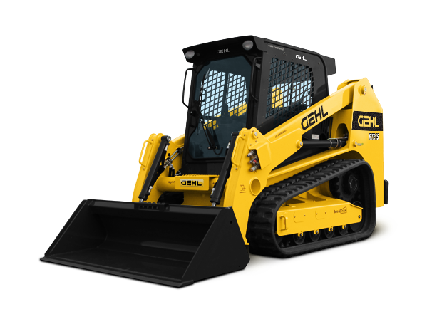 SKID STEER - TRACKS W/CAB 9,900 LB 72HP RT210 / RT215
