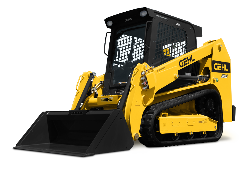 SKID STEER - TRACKS 9,200 LB 69HP RT185