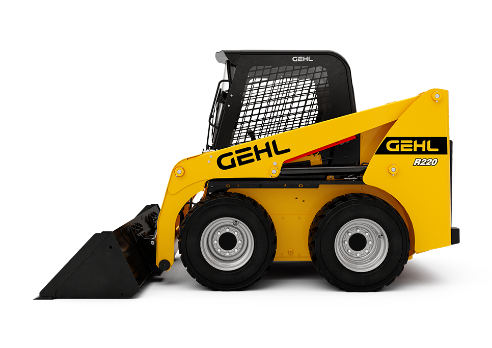 SKID STEER - WHEELS W/CAB 8,000 LB 72HP R220