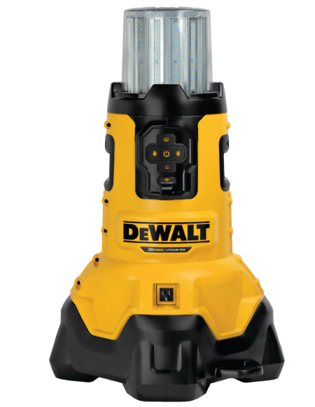 LED WORK LIGHT - DEWALT W/ 60V BATTERY